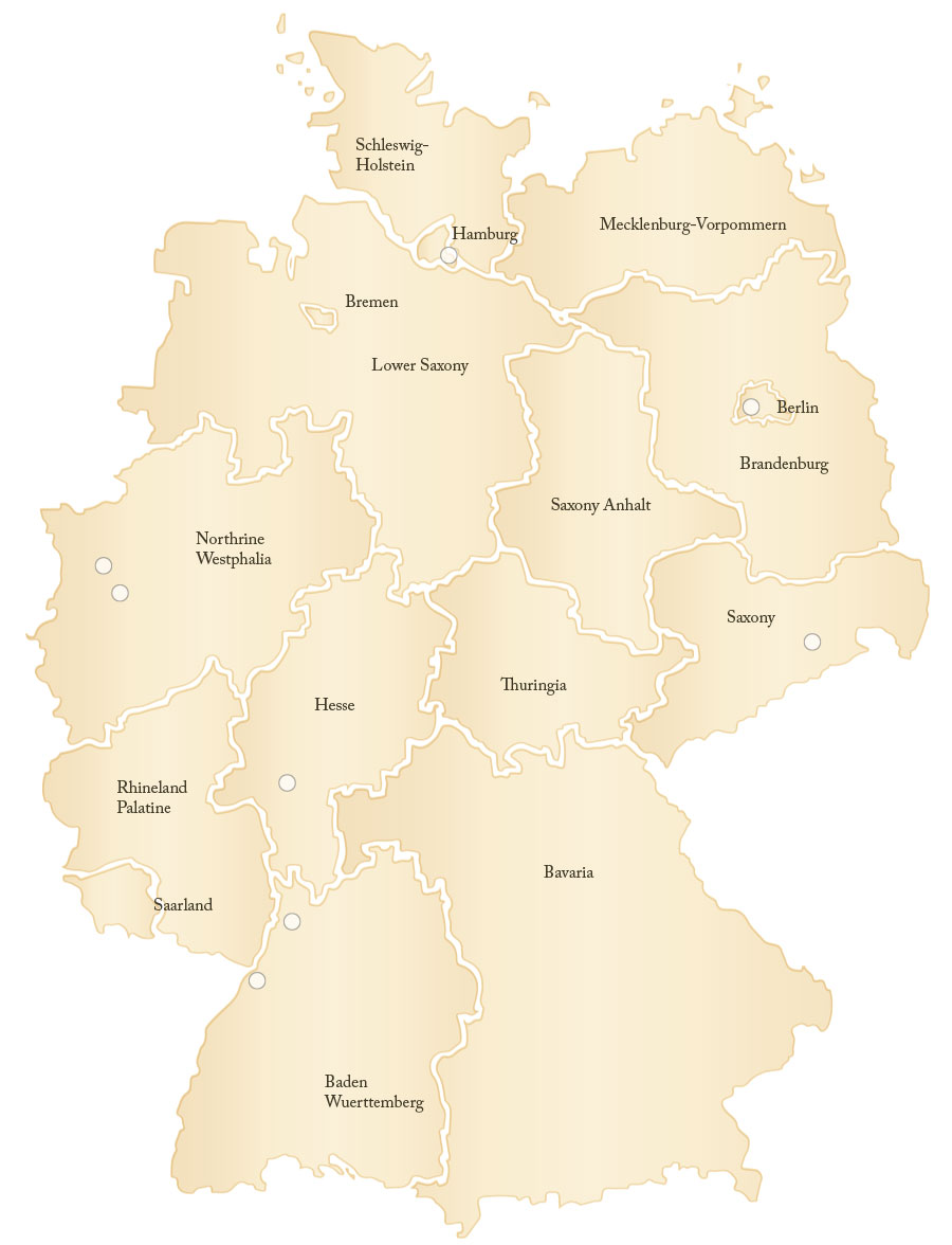 Baden baden germany map