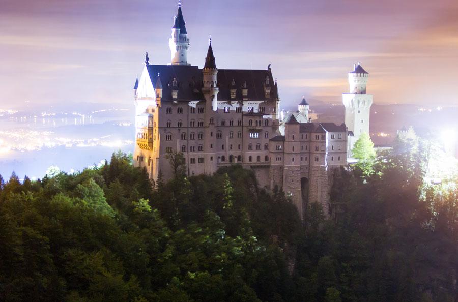 Neuschwanstein Castle, Linderhof Palace and Oberammergau