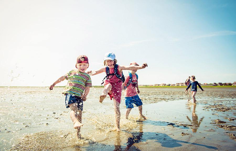 Germany's coast for kids