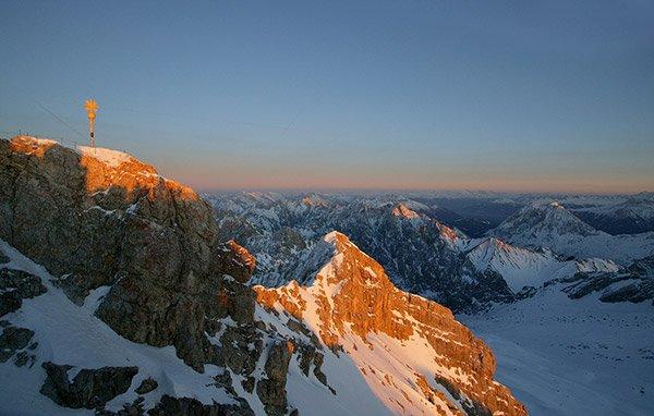 Garmisch-Partenkirchen and Zugspitze mountain