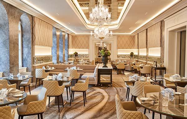 Hotel Vier Jahreszeiten Kempinsk Restaurant